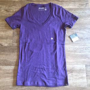 Eddie Bauer Favorite Short-Sleeve V-Neck T-Shirt